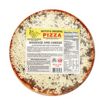 "Butch's 9"" Sausage & Cheese Pizza, 16 oz"