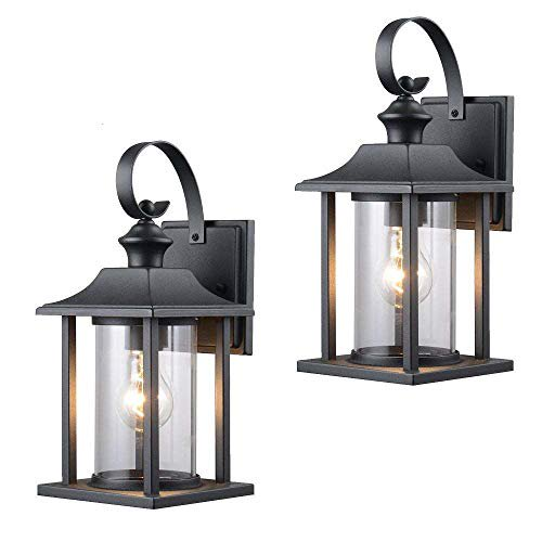 Designers Impressions Twin Pack, Wall Mount Outdoor Lighting