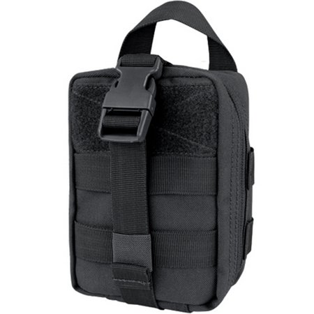 Condor #191031 Tactical Rip-Away MOLLE EMT Lite Pouch - Black