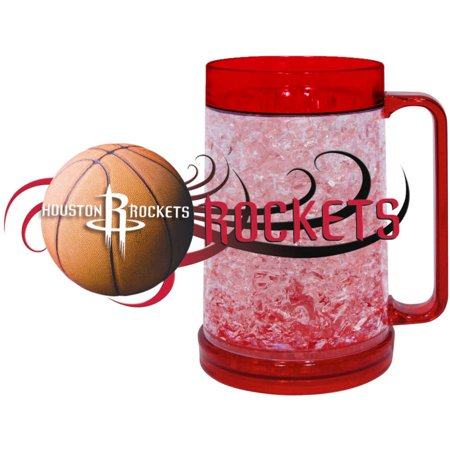 NBA Houston Rockets Freezer Mug (16-Ounce), Large, Majestic Red