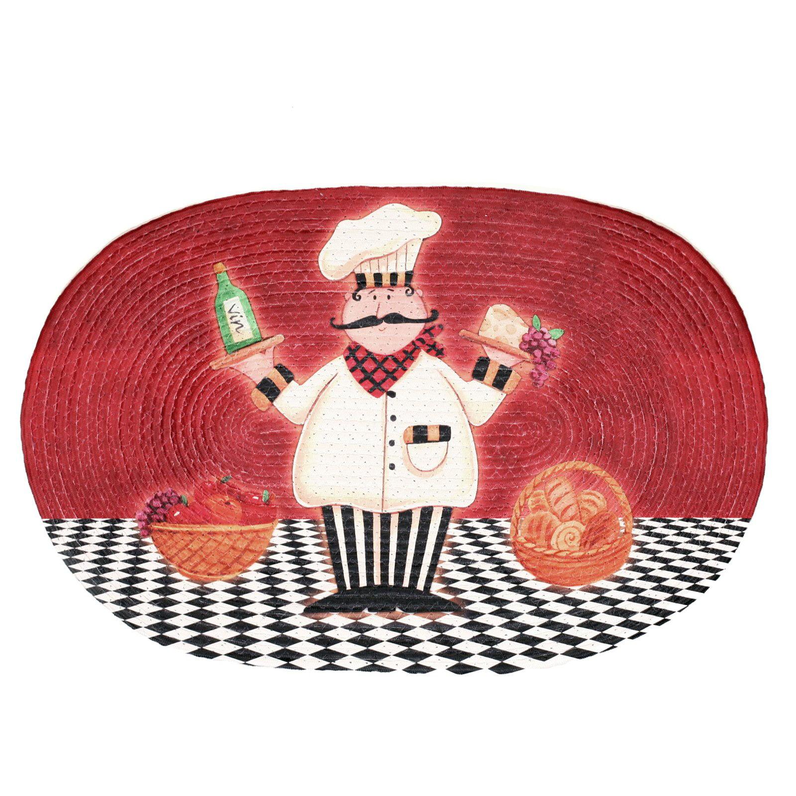 Braided Rug Chef Buono Appetito