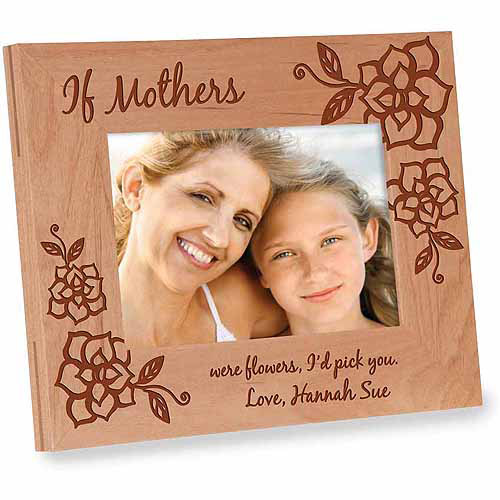 Personalized Gift for Mom - If Mothers Were Flowers Frame, I Version