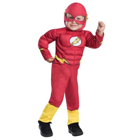 Toddler Boys Flash DC Justice League Halloween Costume](Toddler Flash Costume)
