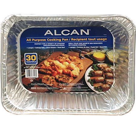 Alcan All purpose cooking pan, 30 Count - image 3 of 3