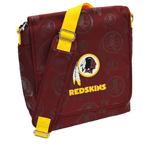 NFL Diaper Bag by Lil Fan, Messenger Style - Washington Redskins