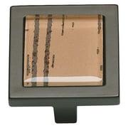 Atlas Homewares Spa Collection Tiger Square Cabinet Knob