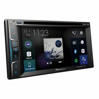 "Pioneer AVH-1500NEX 6.2"" Double-DIN In-Dash NEX DVD Receiver with Bluetooth, Apple CarPlay & SiriusXM Ready"