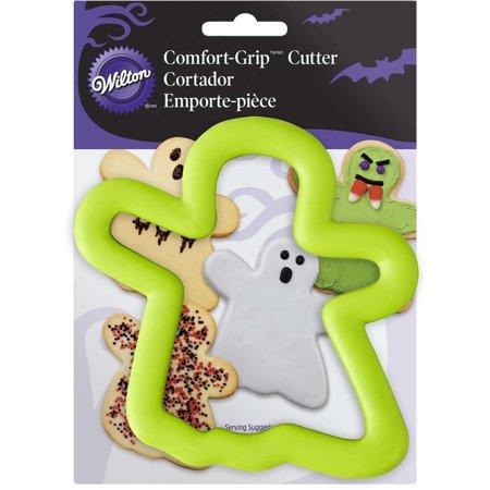 Wilton Comfort Grip Green Ghost Cookie Cutter, 2310-3741 ()