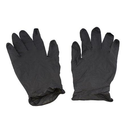 Showa 6112PFM Eco Best Biodegradable Medium Black Nitrile Gloves (Pack of