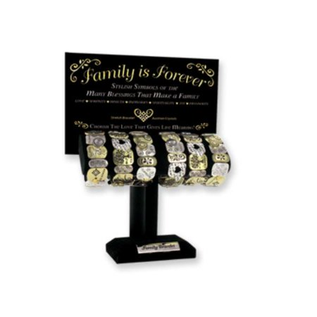 Ddi Family Is Forever Stretch Bracelet (pack Of 18)