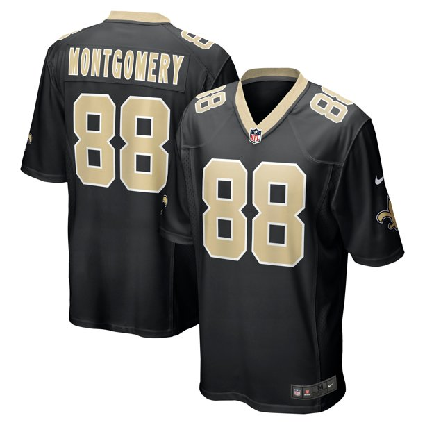 Ty Montgomery New Orleans Saints Nike Game Jersey - Black