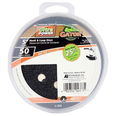 Hole Grater (Gator 8 - Hole Hook & Loop Discs Bulk Pack )