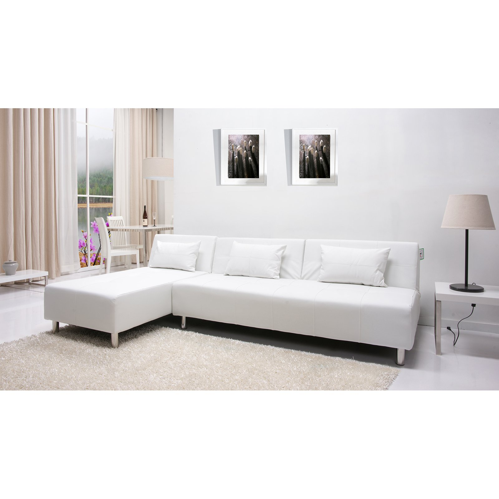 Gold Sparrow Atlanta Convertible Sectional Sofa