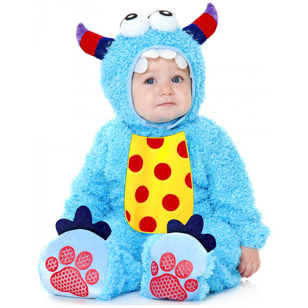 Little Monster Madness Baby Infant Costume Blue - Toddler