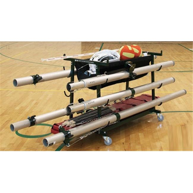 Gared Sports 6295 Volleyball Equipment Storage Cart