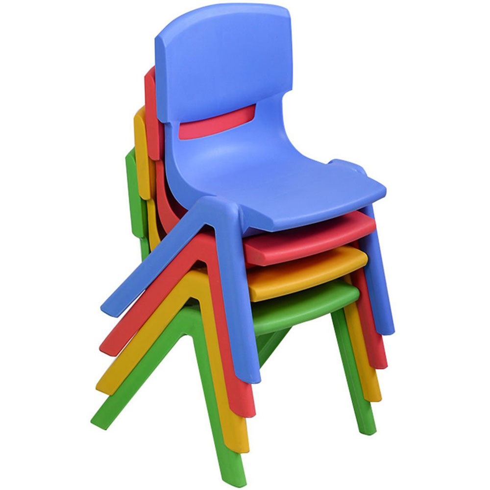 Attractive Ktaxon Set Of 4 Kids Plastic Chairs Stackable Play And Learn  Furniture,Preschool Stack Chair