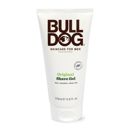 Shave 4.2 Ounce Splash - Bulldog Skincare and Grooming For Men Original Shave Gel, 5.9 Ounce