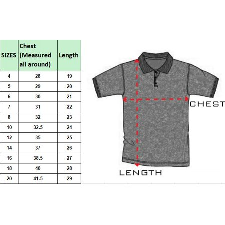 5797816e5 Boy's Short Sleeve School Uniform Pique Polo Shirts (3-PACK) - image 1 ...