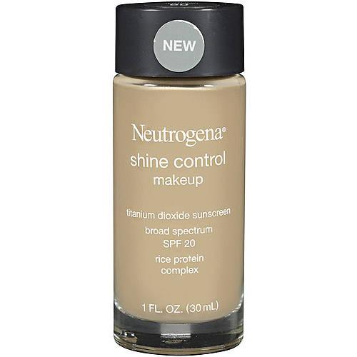Neutrogena Shine Control Liquid Makeup Broad Spectrum SPF 20, Natural Beige 60, 1 oz