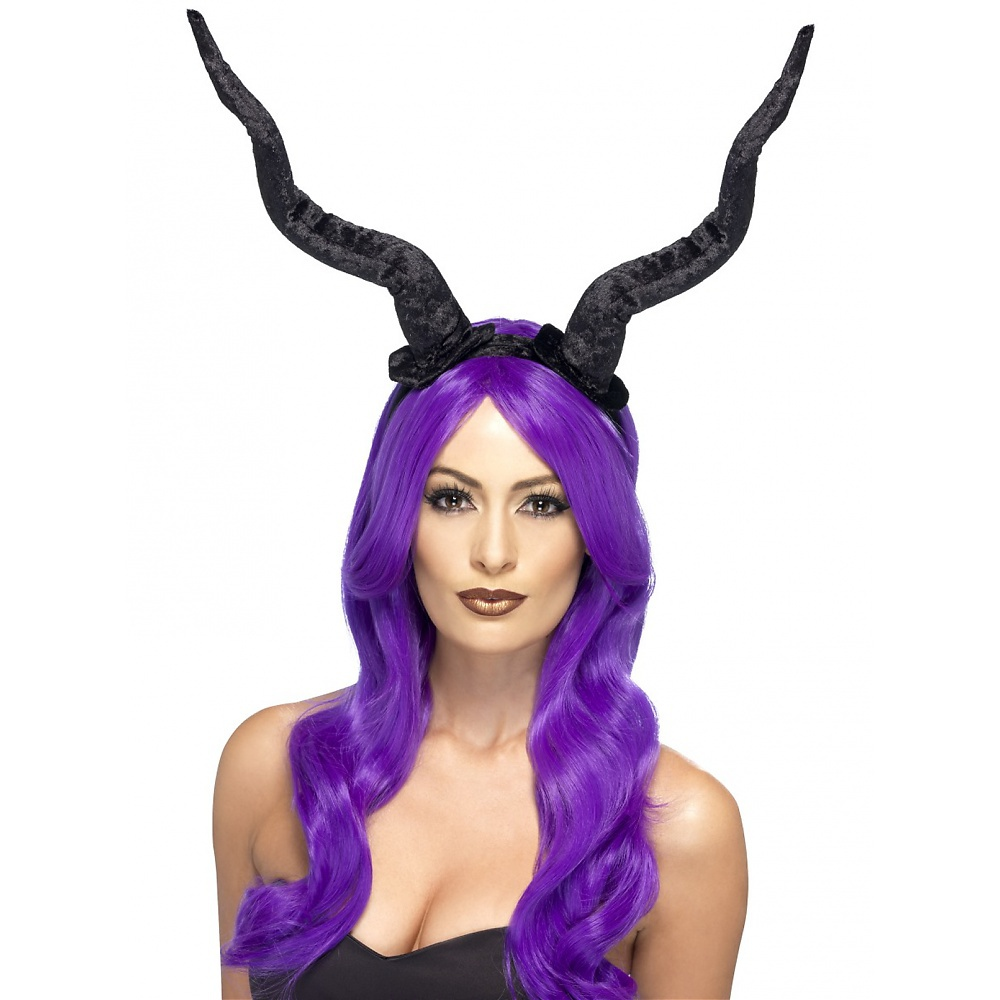 Demon Horns Adult Costume Accessory