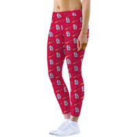 St. Louis Cardinals Loudmouth Women's Active Leggings - Red