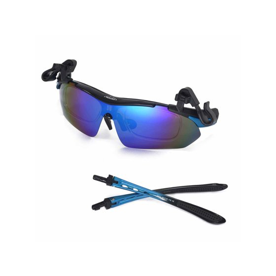 28400a6ac9 Walleva - Walleva WSG001-BL Ice Blue Polarized Sunglasses With TR90 ...