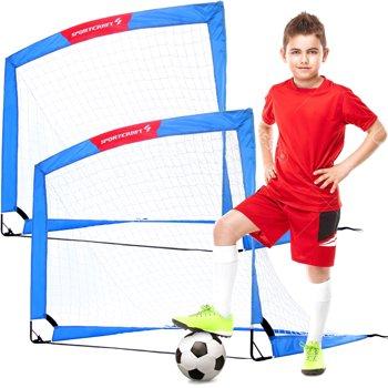 2-Pack Sportscraft 4' x 3' Pop Up Soccer Goal