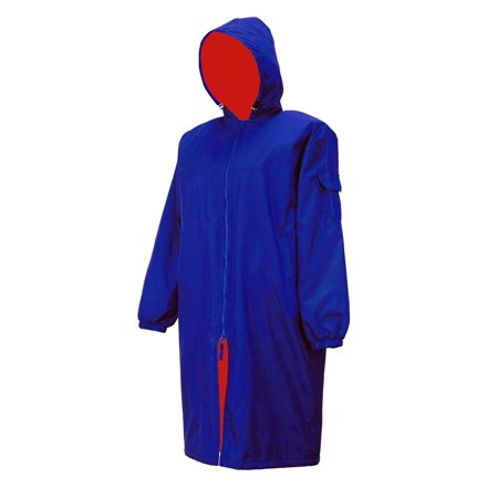 Adoretex Unisex Swim Parka (PK005C) - Royal/Red - Adult-XL