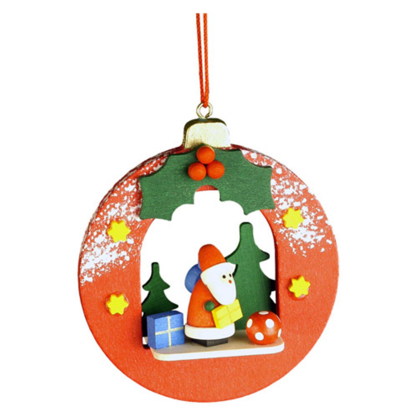 Christian Ulbricht Santa in Xmas Ball Ornament