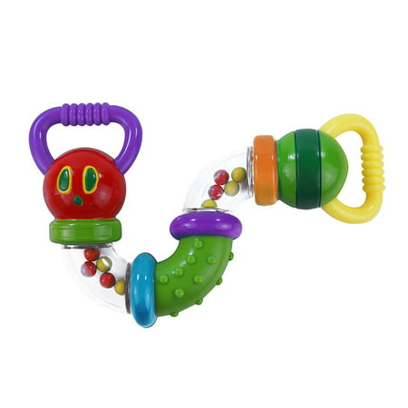 World of Eric Carle, The Very Hungry Caterpillar Zig Zag Caterpillar Rattle