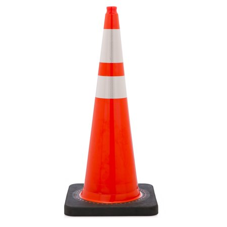 Traffic Cone with 10 lbs Reflective, 36
