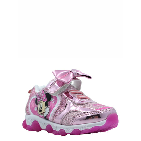 Minnie Mouse Toddler Girls' Lighted Athletic Shoe](Minnie Mouse Toddler Shoes)