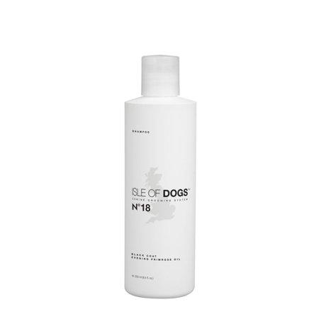 Isle of Dogs COATURE No 18 Black Coat Evening Primrose Oil Shampoo 250ml Black Coat Shampoo