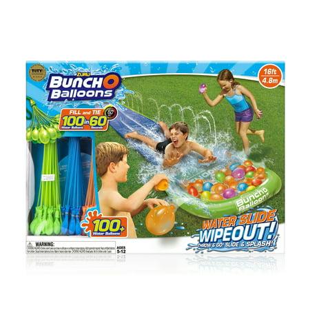 Bunch O Balloons Water Slide Wipeout (1x Lane) by ZURU