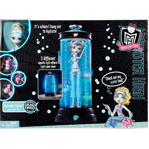 "Monster High Dead Tired Hydration Station 10.5"" Doll Playset"