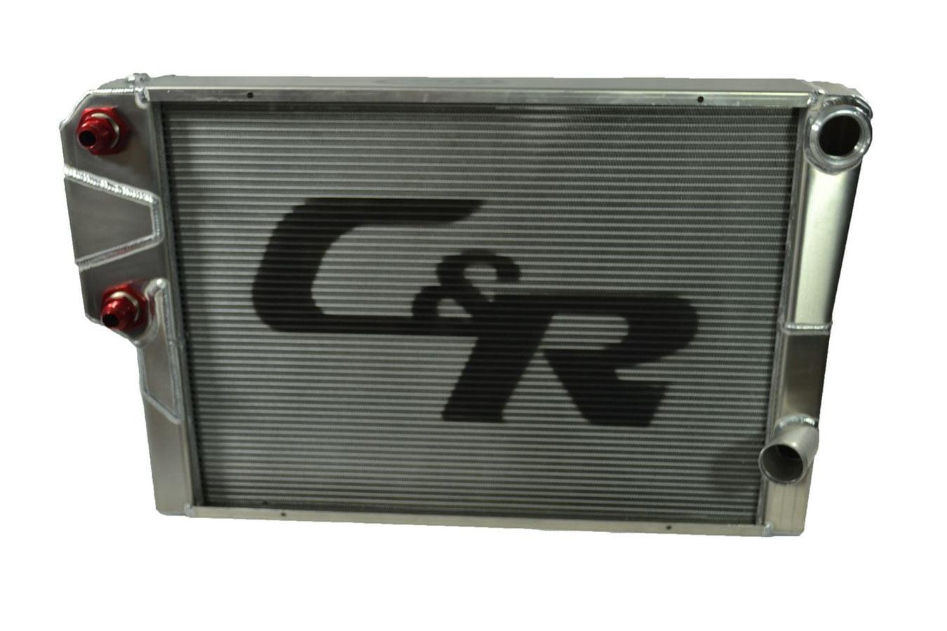 C AND R 30 in W x 18-9 16 in H x 1-1 2 in D Crossflow Radiator P N 818-30191 by C AND R Racing RADIATORS