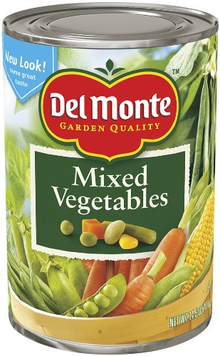 Del Monte Mixed Vegetables, 14.5-Ounce Cans (Pack of 12) by