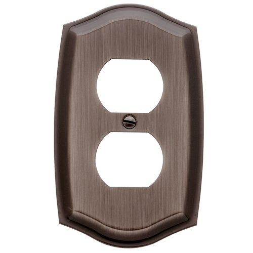 Baldwin Colonial Design Single Duplex Switch Plate