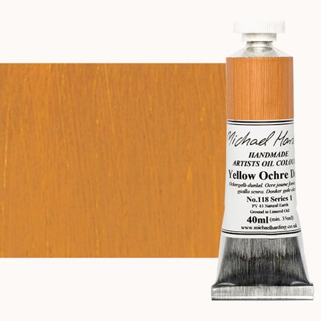 Michael Art Supply (Michael Harding Handmade Artists Oil Color 40ml - Yellow Ochre)
