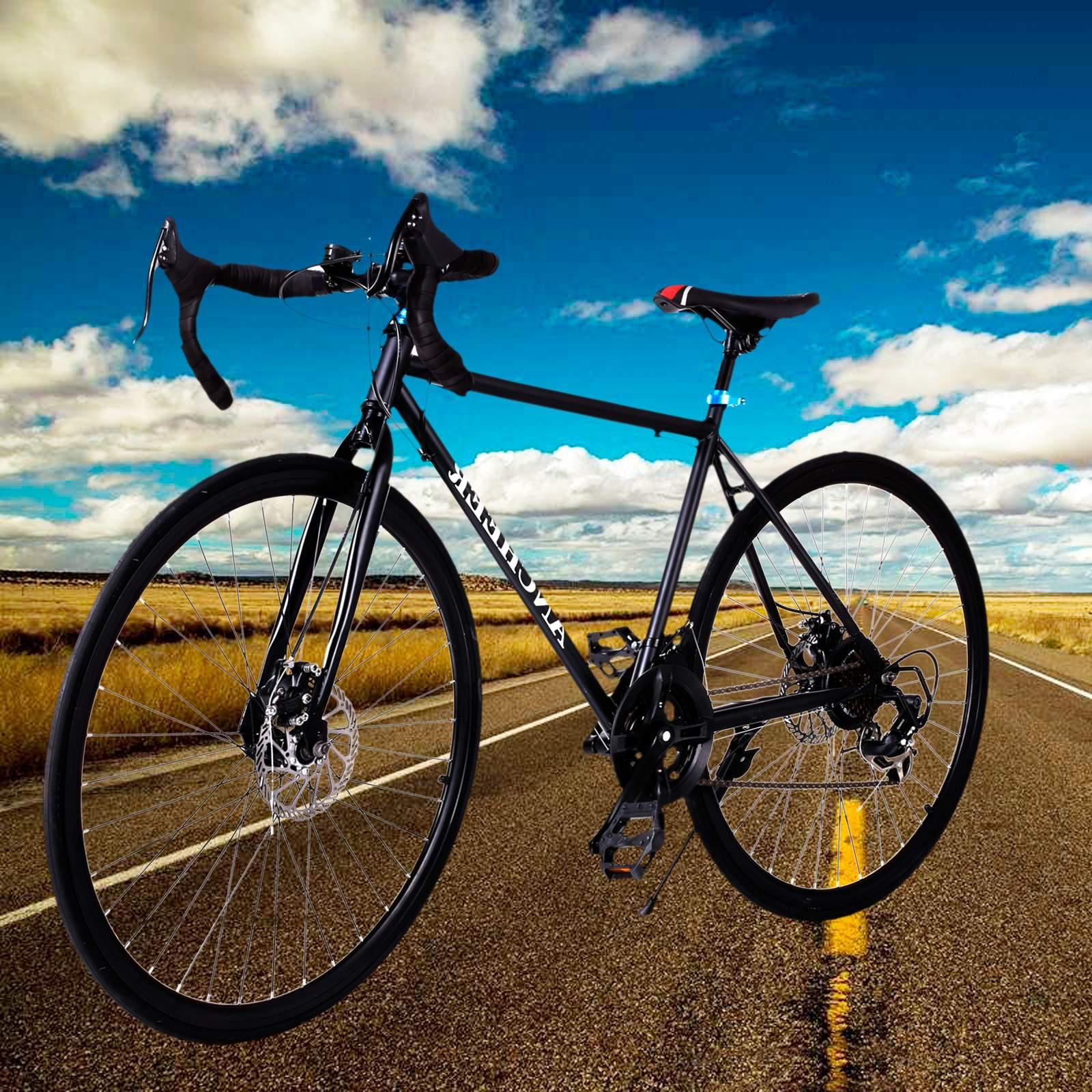 NEW PAGACAT The worth buy  special  for man 26'' 700C Aluminum 21 Speed Road/Commuter Bike Racing Bicycle Black PAGACAT