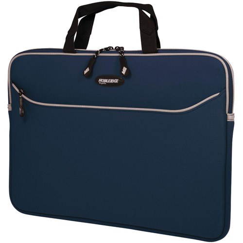 "Mobile Edge MESSM3-13 SlipSuit 13"" MacBook and MacBook Pro Sleeve, Navy"