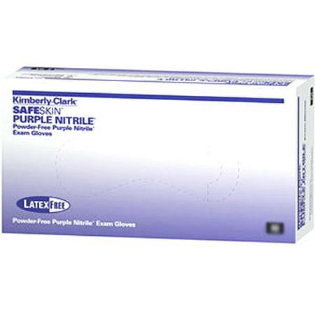 Safeskin Purple Nitrile Powder Free Exam Glove Non Sterile Extra Large  90 Bx