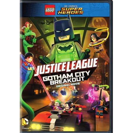 Lego DC Super Heroes: Justice League - Gotham City Breakout (DVD) - Party City League City