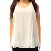 Eileen Fisher NEW White Ivory Women's Small S Tank Cami Silk Top $228