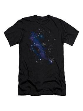 8dd3885d5 Product Image Star Trek Next Generation TV Series Kirk Constellations Adult  Slim T-Shirt Tee