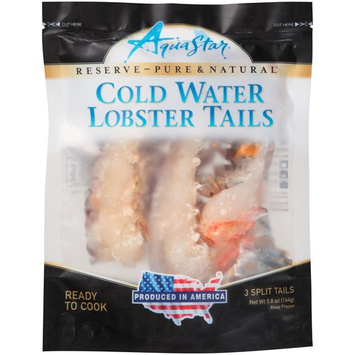 Aqua Star Cold Water Lobster Tails, 3 count, 5.8 oz
