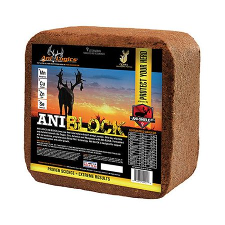 Ani Logics Outdoors   Ani Block Deer Block  20 Lbs