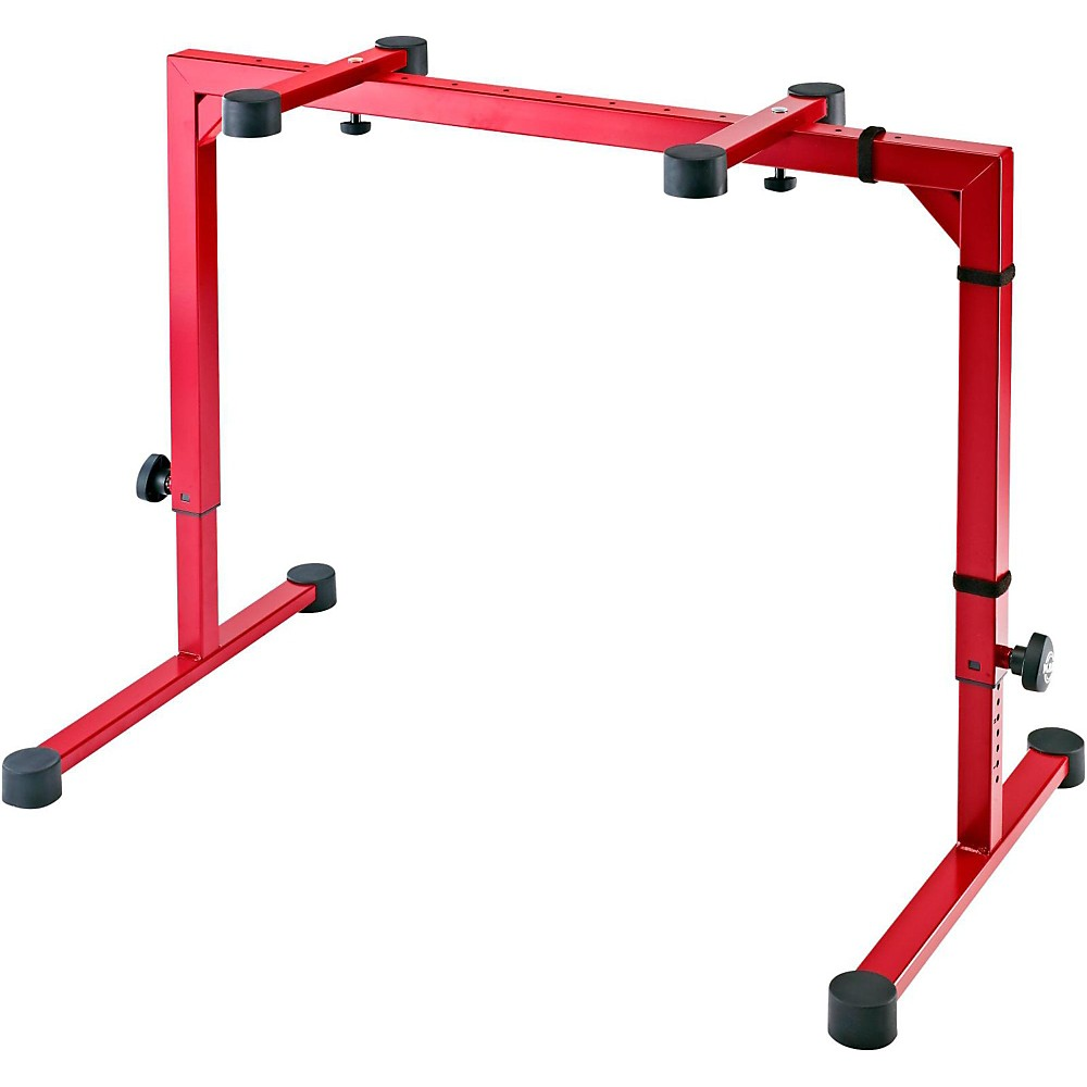 K&M Omega Keyboard Stand Red