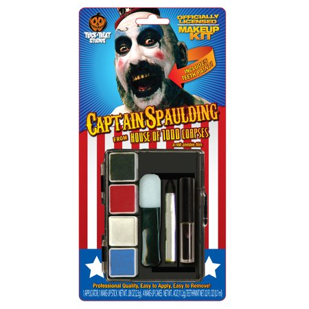 House of 1,000 Corpes Adult Costume Makeup Kit Captain Spaulding