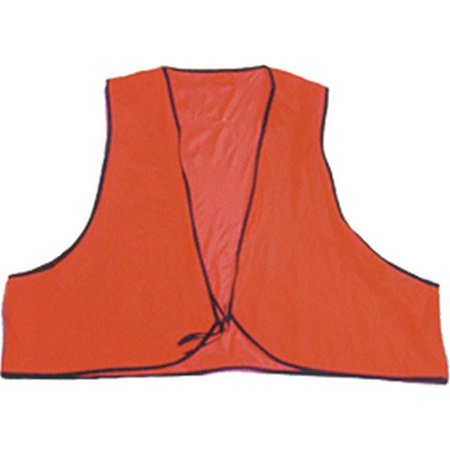 Texsport 26440 Men's Orange Economy Vinyl Safety Hunting Vest OSFM (Economat Vinyl)